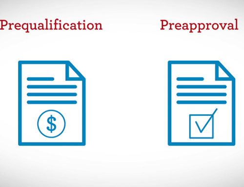 MORTGAGE PRE-APPROVAL VERSUS PRE-QUALIFICATION
